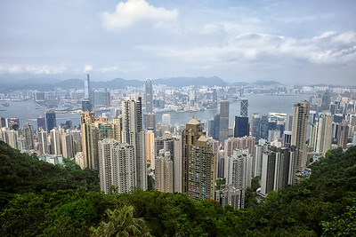 Viewing Hong Kong From The Peak