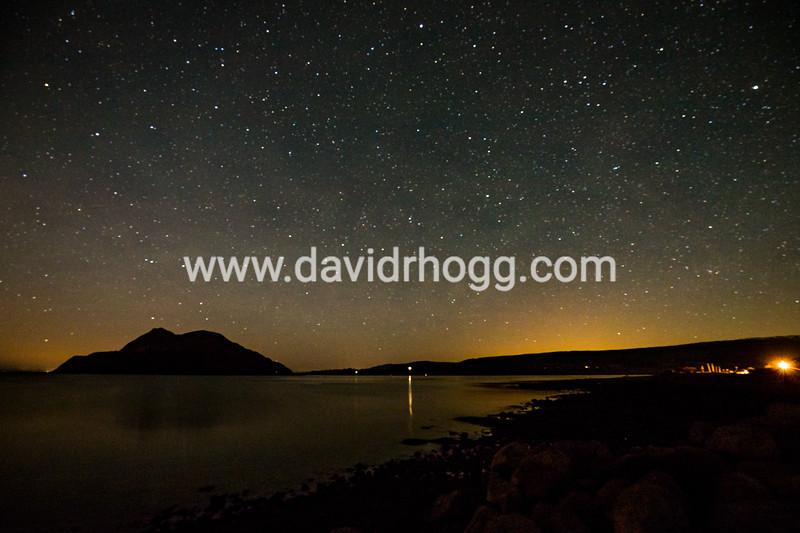 #astrophotography #isleofarran #nightscape #holyisle #lamlash #zerocloud