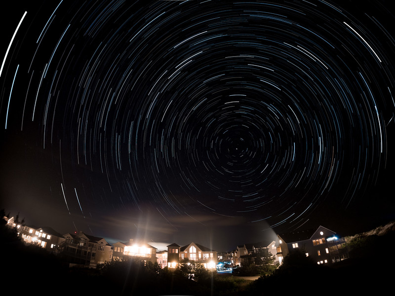 Star Trails over Outer Banks