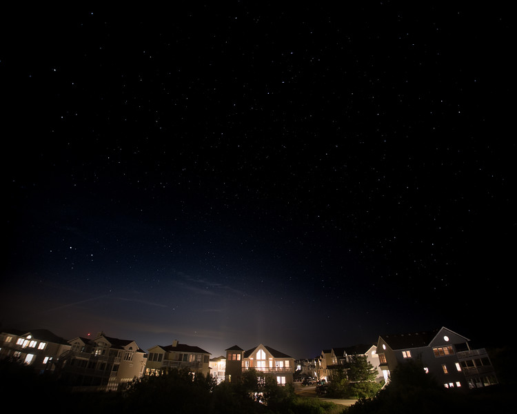 Stars over Outer Banks