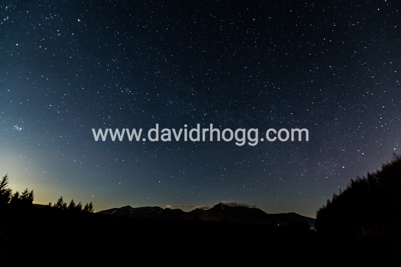 #astrophotography #isleofarran #nightscape #goatfell #zerocloud
