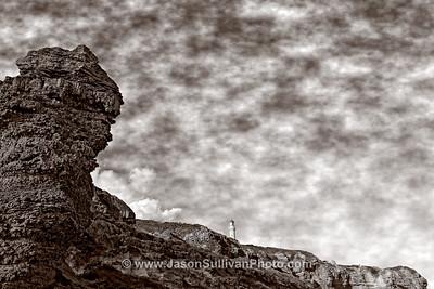 Below the Cliff Tops