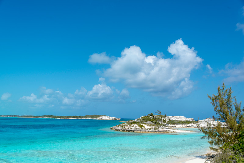 Pirate Trap Beach, Staniel Cay