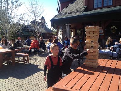 Apres-Ski: Hot Chocolate and Monster Jenga