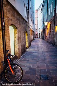 Bicycle, Old Town, Innsbruck, Austria