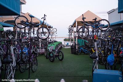 Bicycle shop, Mackinac Island, Michigan