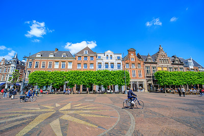 Bicycle, Grote Markt, Old Center, Haarlem, Netherlands