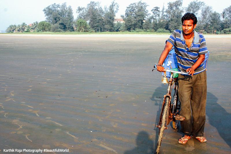 Pedlar Pedal, Miramar beach, Panjim, Goa, India