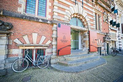 Bicycle, Grote Markt, Old Center, Haarlem, Netherlands