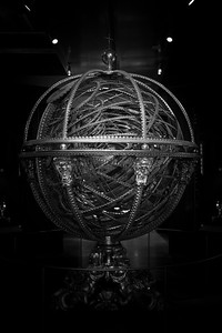 Armillary Sphere In The Museo Galileo