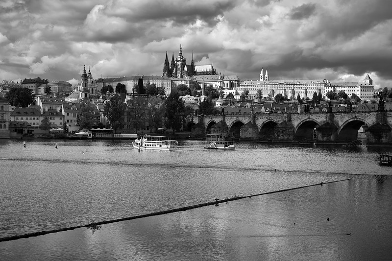 Cruising The Vltava River - Prague