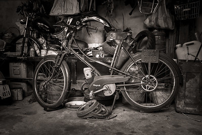Vintage 1950's Mobylette Moped
