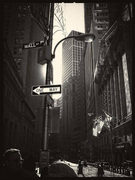 One Way On Wall St