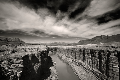 Colorado River From The  Navajo Bridge - Marble Canyon, Arizona