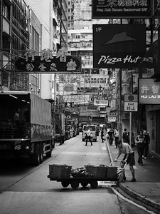 Wandering The Streets Of Hong Kong