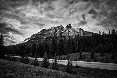 Cliffs of Castle Mountain