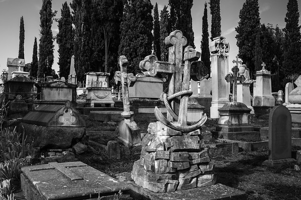 The English Cemetery In Florence, Italy