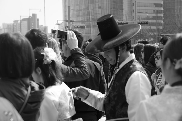 Crowded Streets Of Seoul