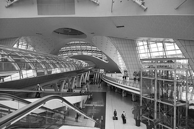 Inside The Incheon International Airport - Seoul, South Korea