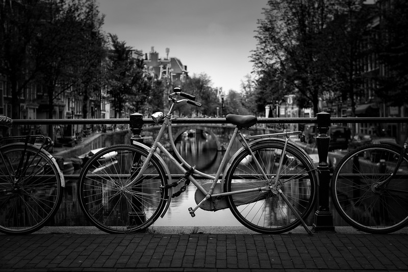 Amsterdam. The City of Bikes