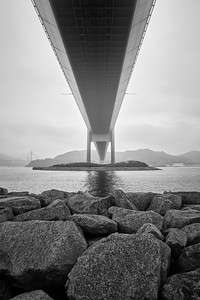Under The Tsing Ma Bridge - Ma Wan, Hong Kong