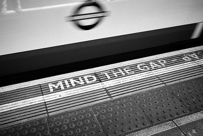 London Underground Mind The Gap - London, United Kingdom