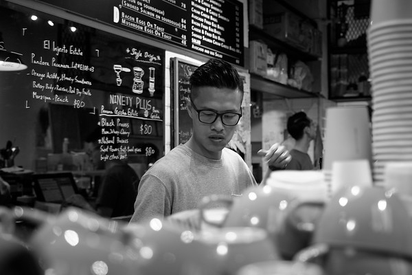 Master Barista At Work @ N1 Coffee & Co. - Hong Kong