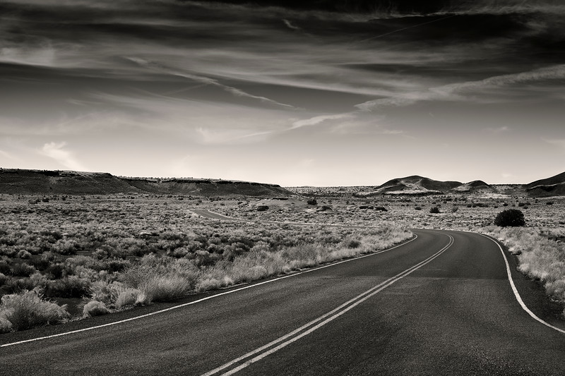 Empty Road Ahead - Wupatki National Monument