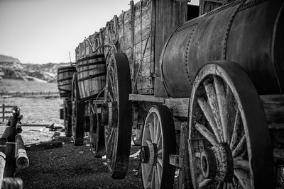 The Old 20 Mule Team Borax Wagon