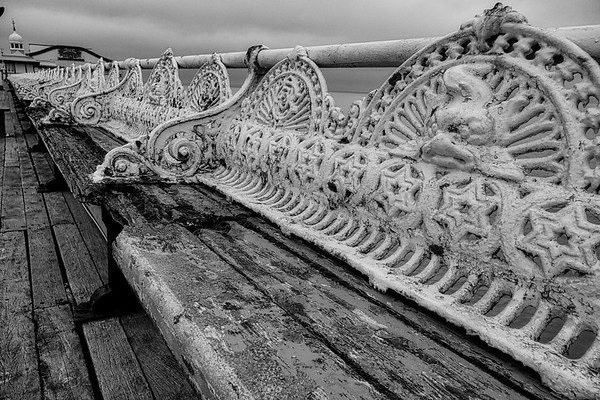 Ravages of tme on Blackpool's North Pier