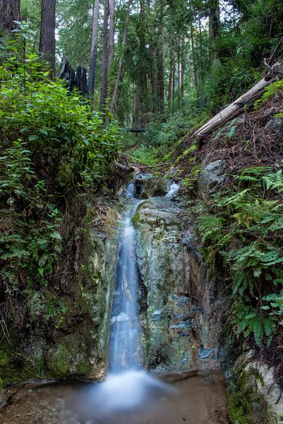 Falls along the creek above Creek  Cabin.