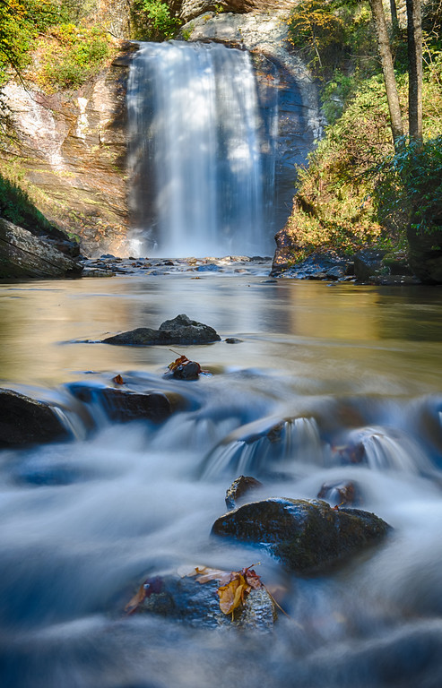 Looking Glass Falls; Pisgah National Forest, NC