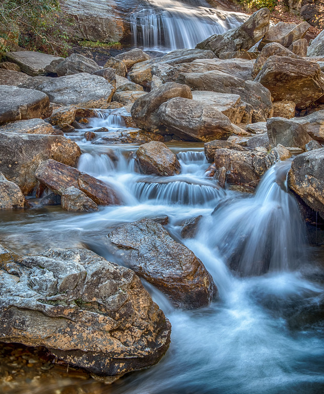 The Lower Falls at Graveyard Fields.