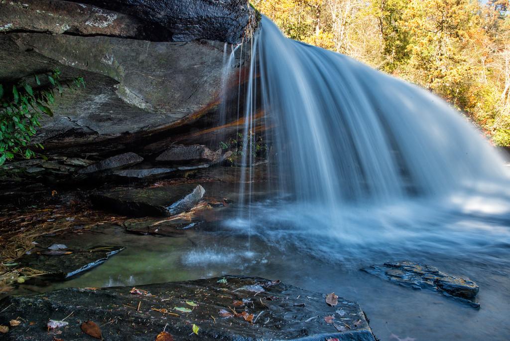 Bridal Veil Falls; Dupont State Forest