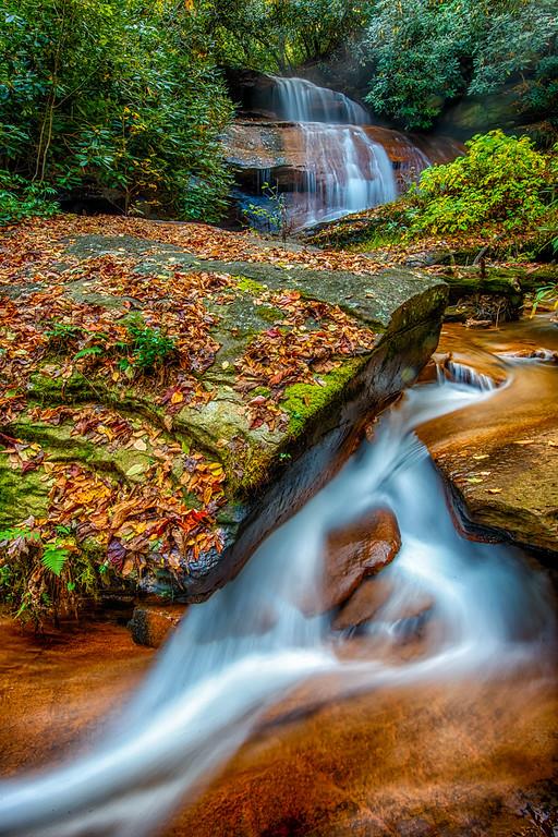 Batson Creek Falls, in Connestee Falls