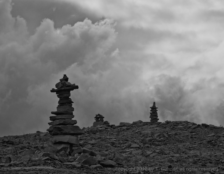 Cairns on Eagle River Plains