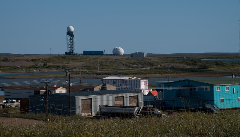 First line of defense, NORAD houses a base outside the village