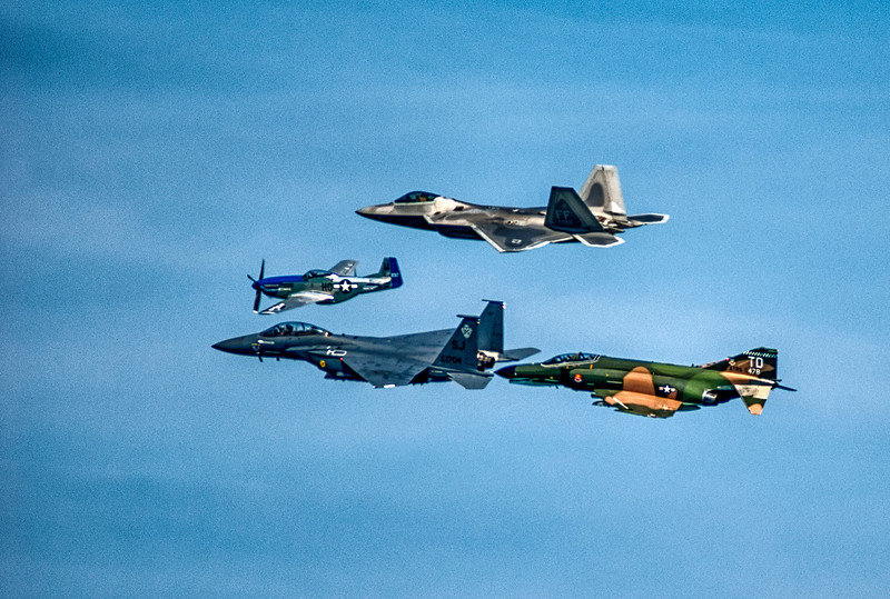 History of fighter planes, Chicago Air and Water Show,  mid-2000s