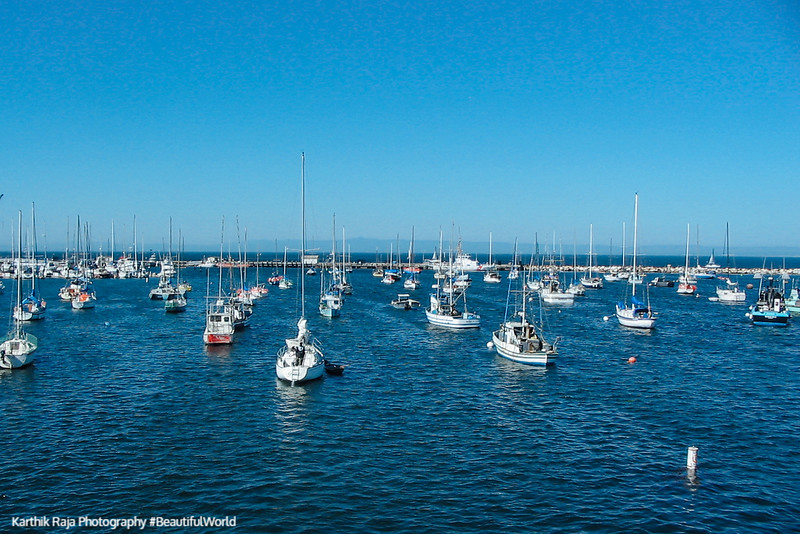 Monterey Harbor, California
