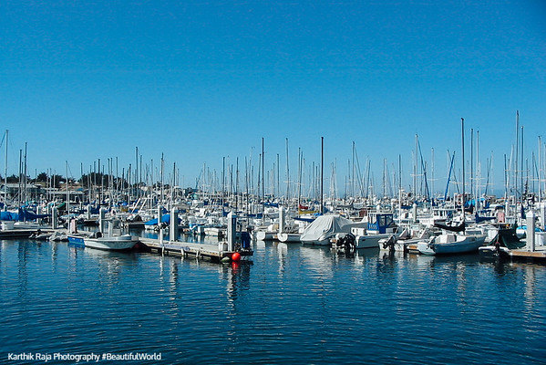 Monterey Harbor, California