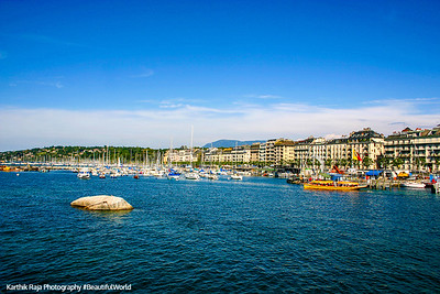 Lake Geneva, Geneva, Switzerland