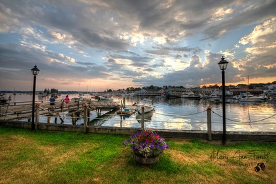 Sunset on the Harbor