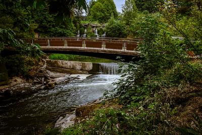 At Tumwater Falls