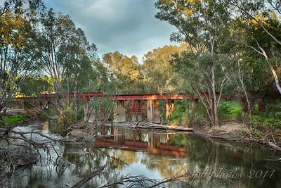 Rail Bridge over the Ovens River