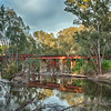 Rail Bridge over the Ovens River