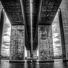 Beneath the Bolte Bridge