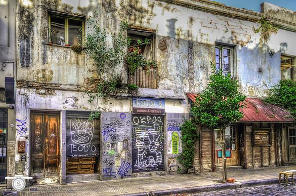 The Growth of Graffiti