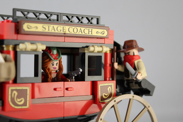 Lone Ranger Stagecoach Escape