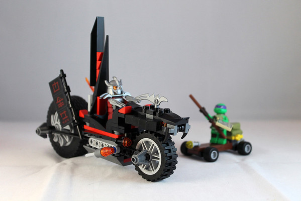 Shredder's Dragon Bike