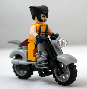 Wolverine's Chopper Showdown